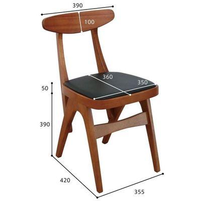 市場(Marche) hommage Chair (ブラウン) HMC-2464-BR