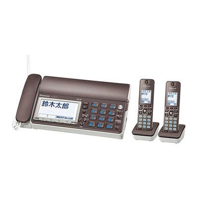 パナソニック デジタルコードレス普通紙ファクス(子機2台付き)おたっくす KX-PD615DW-T