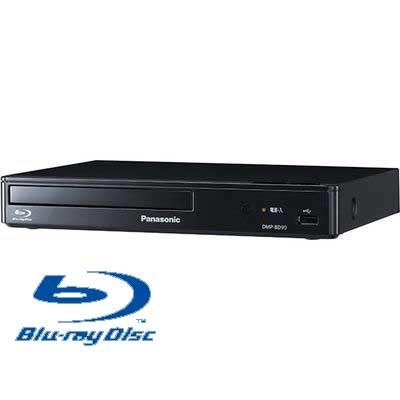 出群 送料無料 パナソニック ブルーレイディスクプレーヤー 安心の定価販売 再生専用 DMP-BD90-K