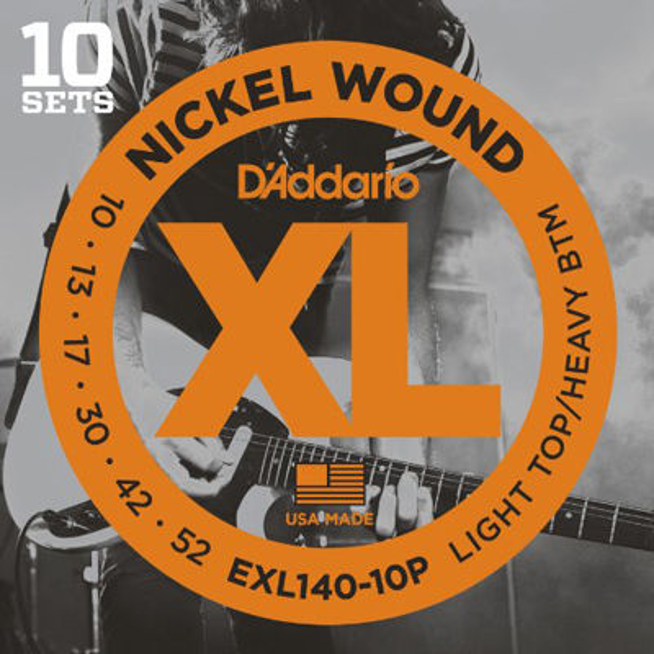 DADDARIO 【10個セット】D'Addario EXL140-10P 10セットパック エレキギター弦 0019954970451
