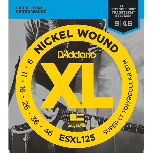 DADDARIO 【10個セット】ESXL125 エレキギター弦 Super Light Top/Regular.Bottom/Double Ball End / D'Addario 0019954144128