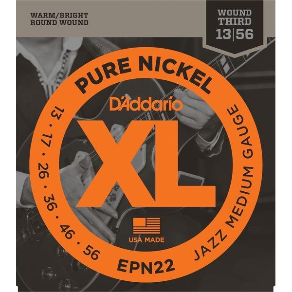 DADDARIO 【10個セット】EPN22 エレキギター弦 Jazz Medium / D'Addario 0019954968953