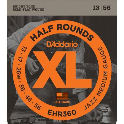 DADDARIO 【10個セット】EHR360 エレキギター弦 Jazz Medium / D'Addario 0019954927059