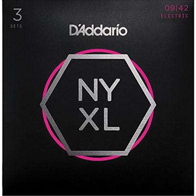 DADDARIO 【5個セット】D'Addario / NYXL0942-3P 09-42 NYXL エレキギター弦 ダダリオ 0019954168285