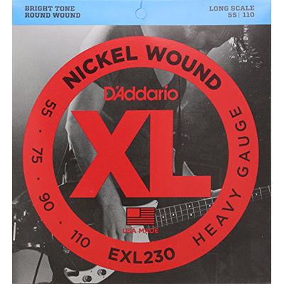 DADDARIO 【5個セット】EXL230 ダダリオ エレキベース弦 Long 0019954925482