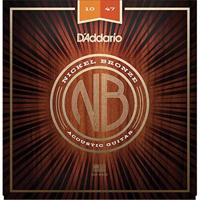 DADDARIO 【10個セット】D'Addario / Nickel Bronze NB1047 Extra Light 10-47 アコギ弦 0019954182199