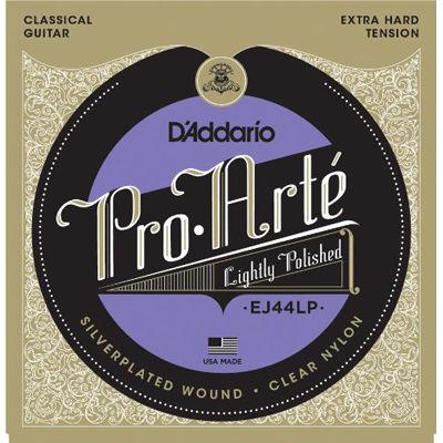 DADDARIO 【10個セット】EJ44LP ダダリオ クラシックギター弦 Lightly Polished Silver/Clear/Extra-Hard 0019954936853