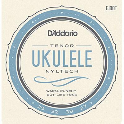 DADDARIO 【10個セット】D'Addario EJ88T Nyltech Ukulele テナーウクレレ用セット弦 ダダリオ 0019954970635