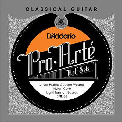 DADDARIO 【10個セット】D'Addario SNL-3B ダダリオ クラシックギター用弦 0019954930455