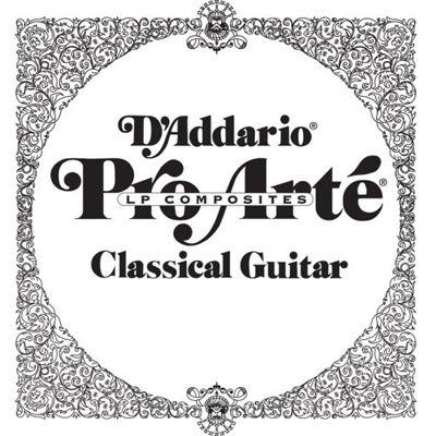 DADDARIO 【10個セット】D'Addario ダダリオ クラシックギター用バラ弦 プロアルテ A-5th J4605LP Lightly Polish 0019954926588