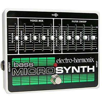 エレクトロ・ハーモニックス エレクトロハーモニクス Bass Micro Synthesizer アナログシンセサイザー ベース用 0683274010809