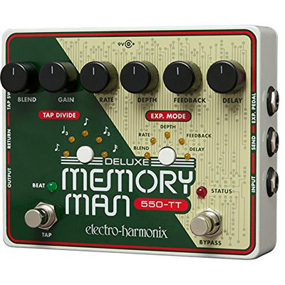 エレクトロ・ハーモニックス エレクトロハーモニクス Deluxe Memory Man Tap Tempo 550 アナログディレイ エフェクター 0683274011202