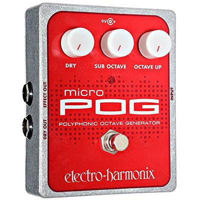 エレクトロ・ハーモニックス Micro POG エフェクター オクターバー 0683274010700