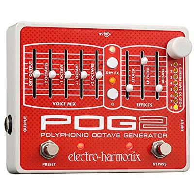 エレクトロ・ハーモニックス POG2 ポリフォニックオクターブジェネレーター エフェクター 0683274010977