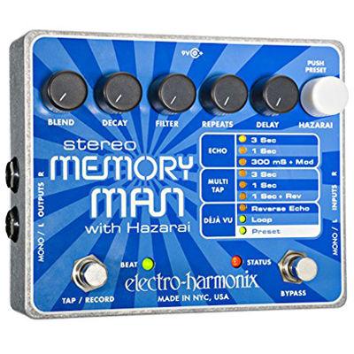 エレクトロ・ハーモニックス STEREO MEMORY MAN WITH HAZARAI エレクトロハーモニクス ステレオメモリーマン 0683274010717