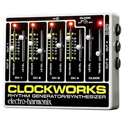 エレクトロ・ハーモニックス エレクトロハーモニクス Clockworks リズムジェネレーター/シンセサイザー 0683274011509