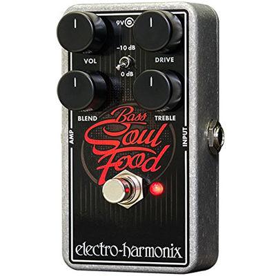 エレクトロ・ハーモニックス Bass Soul Food ベース/ギター用 オーバードライブ/クリーンブースト K 0683274011592