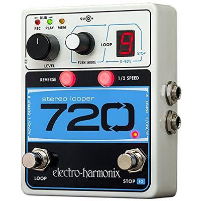 【送料無料】 エレクトロ・ハーモニックス エフェクター ルーパー 720 Stereo Looper 【国内正規品】 0683274011684