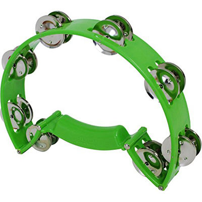Green Toca TCT10-GN ColorSound Tambourine