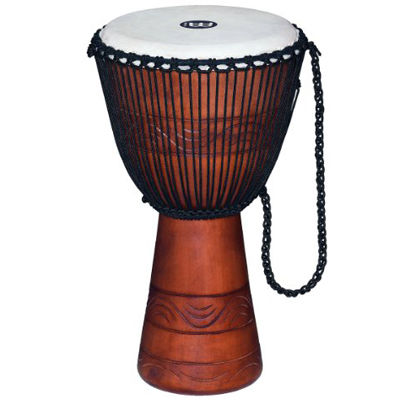 "MEINL ADJ2-L+BAG Original African Style Rope Tuned Wood Djembes / 12"" 0840553061734"
