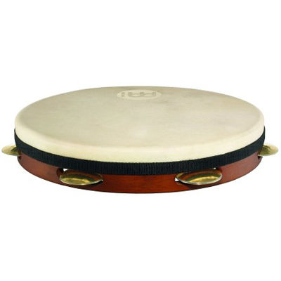 MEINL Percussion マイネル パンデイロ Shell-Tuned Goat Skin Pandeiro 12