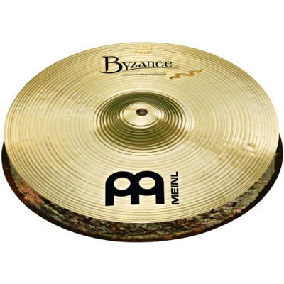 MEINL Cymbals マイネル Byzance Brilliant Series ハイハットシンバル 14