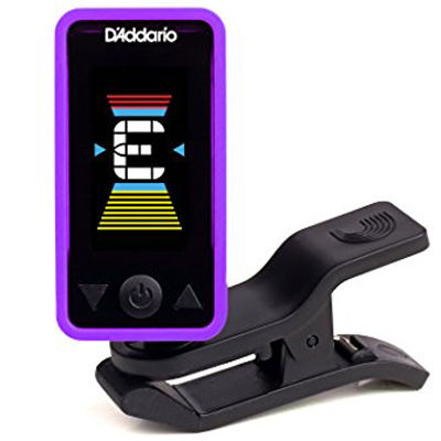 PLANETWAV 【10個セット】Planet Waves by D'Addario プラネットウェーブス クリップチューナー Eclipse Tuner Purple PW-CT-17PR 0019954191559