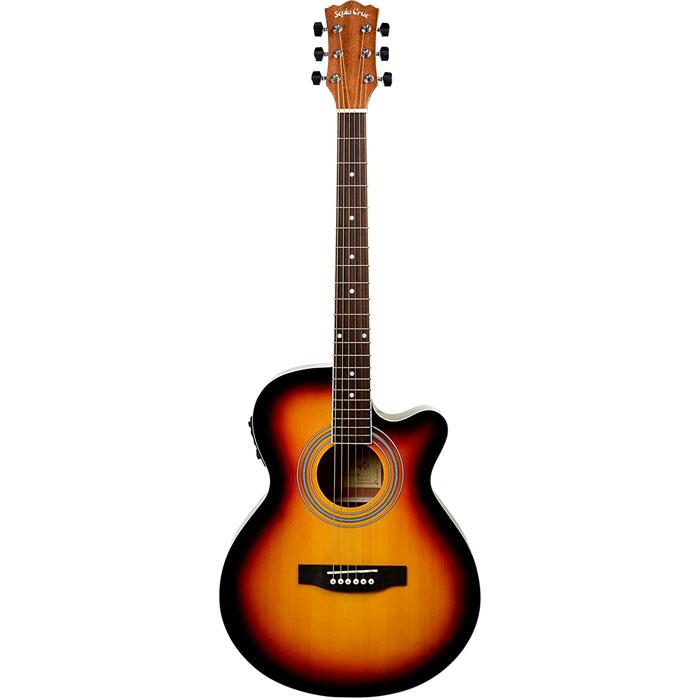SepiaCrue(セピアクルー) エレクトリックアコースティックギター EAW-01/VS ヴィンテージサンバースト ソフトケース付き 4534853523646【納期目安:06/末入荷予定】