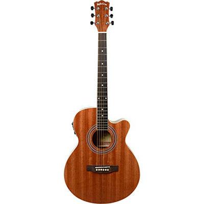SepiaCrue(セピアクルー) エレクトリックアコースティックギター EAW-01/MH マホガニー ソフトケース付き 4534853523844