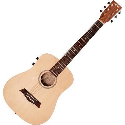 SYAIRI .ミニエレアコギター YM-02E/NTL ナチュラル ソフトケース付き 4534853040310