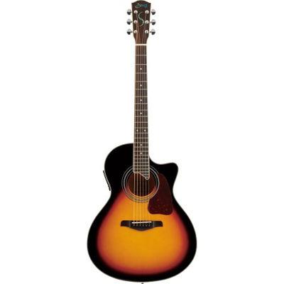 SYAIRI YE-4M/3TS アコースティックギター 3トーンサンバースト E-Acoustic シリーズ YE4M3TSSC ソフトケース付き 4534853522144