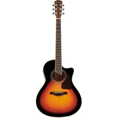 SYAIRI YE-5M/3TS アコースティックギター 3トーンサンバースト E-Acoustic シリーズ YE5M3TSSC ソフトケース付き 4534853522540