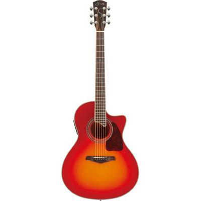 SYAIRI YE-5M/CB アコースティックギター チェリーバースト E-Acoustic シリーズ YE5MCBSC ソフトケース付き 4534853522847