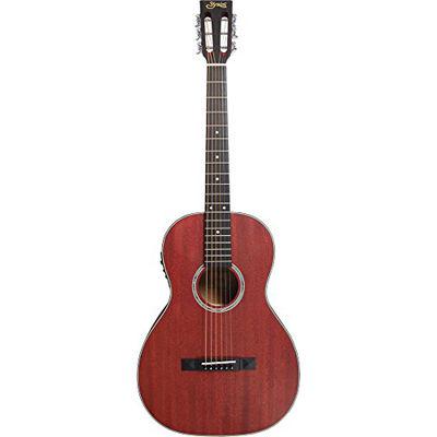 SYAIRI E-Acoustic Series エレクトリックアコースティックギター YE-7M/WR ワインレッド ソフトケース付き 4534853523141