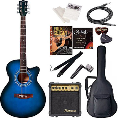 ENTRY Sepia Crue セピアクルー エレクトリックアコースティックギター 初心者入門エントリーセット EAW-01/BLS ブルーサンバースト 4534853029209