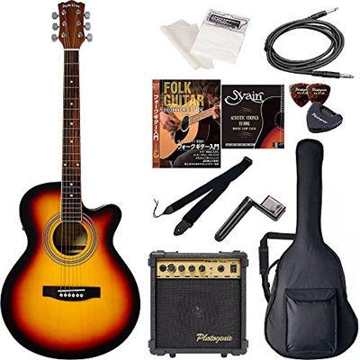 ENTRY Sepia Crue セピアクルー エレクトリックアコースティックギター 初心者入門エントリーセット EAW-01/VS ヴィンテージサンバースト 4534853029407