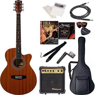ENTRY Sepia Crue セピアクルー エレクトリックアコースティックギター 初心者入門エントリーセット EAW-01/MH マホガニー 4534853029605