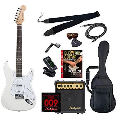 ENTRY ST-180/WH エントリ-セツト フォトジェニック エレキギター エントリーセット ホワイト Photogenic ST180WHエントリセツト 4534853531443