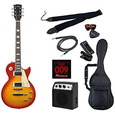 LIGHT PhotoGenic エレキギター 初心者入門ライトセット レスポールタイプ LP-260/CS チェリーサンバースト 4534853538046