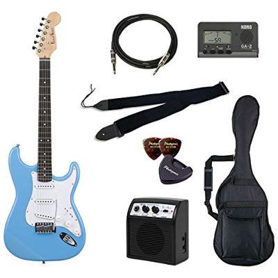 VALUE Photo Genic/フォトジェニック ST-180/UBL エレキギター初心者向け豪華8点バリューセット ST180 ビギナー向け/ストラトキャスタータイプ 4534853030304