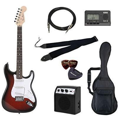 VALUE Photo Genic/フォトジェニック ST-180/RDS エレキギター初心者向け豪華8点バリューセット ST180 ビギナー向け/ストラトキャスタータイプ 4534853030601