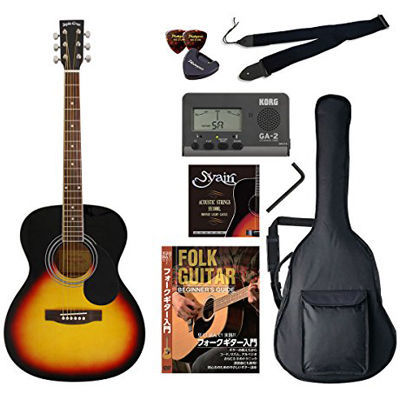 VALUE SepiaCrue/セピアクルー FG-10/VS アコースティックギター初心者向け豪華8点バリューセット ビギナー向け/アコースティックギター 4534853054713
