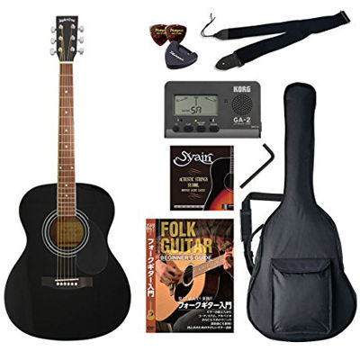 VALUE SepiaCrue/セピアクルー FG-10/BK アコースティックギター初心者向け豪華8点バリューセット ビギナー向け/アコースティックギター 4534853054416