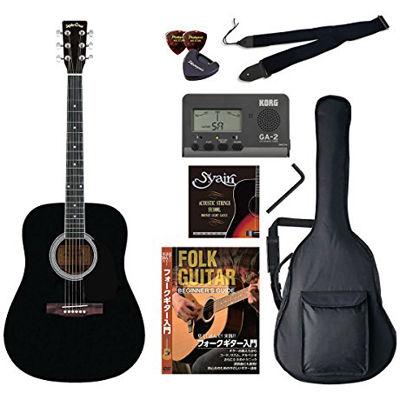 VALUE SepiaCrue/セピアクルー WG-10/BK アコースティックギター初心者向け豪華8点バリューセット ビギナー向け/アコースティックギター 4534853055116