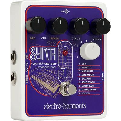 エレクトロ・ハーモニックス SYNTH9 Synthesizer Machine 0683274011974