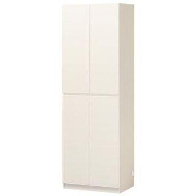 白井産業 壁一面をすっきり高級感のあるリビングに 壁面キャビネット PORTALE ポルターレリビング POR-1860SLWH