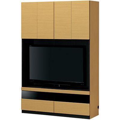 白井産業 壁一面をすっきり高級感のあるリビングに 壁面テレビボード PORTALE ポルターレリビング POR-1812TVNA