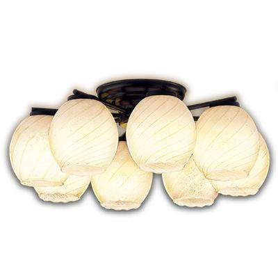 東芝 LEDシャンデリア(~6畳) ※ランプ別売 LEDC88004-8G
