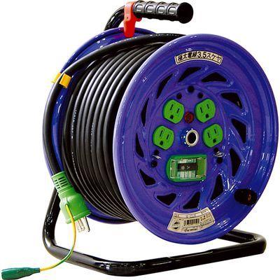 日動工業 電工ドラム 15A×30m (NF-EB34F) 4937305011591
