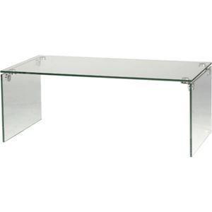その他 ローテーブル/強化ガラステーブル 長方形 ガラス天板 (リビング家具) PT-26 ds-691258